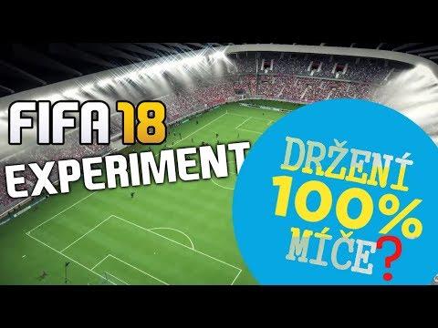 100% DRŽENÍ MÍČE!? (FIFA 18 EXPERIMENT)