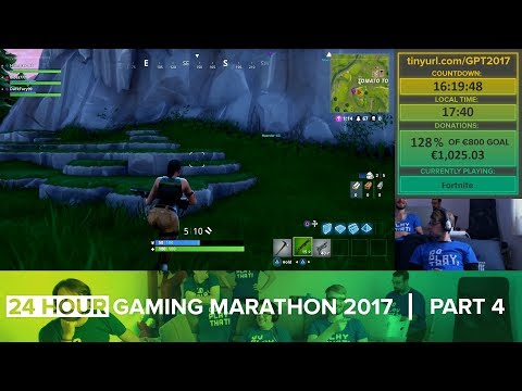 24 HOUR GAMING MARATHON 2017 [Part 4 of 11] (Charity Stream)