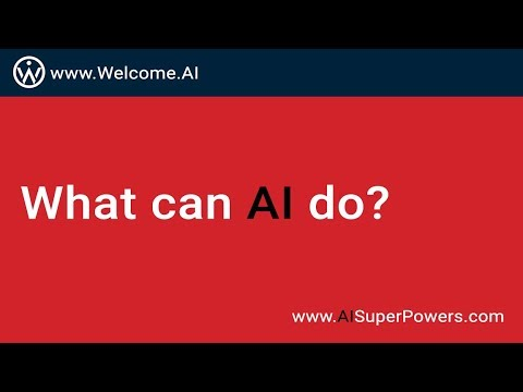 What AI Can Do Today?