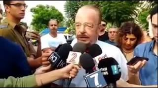 עורך הדין יורם שפטל ביום כניסתו של אלאור אזריה לכלא