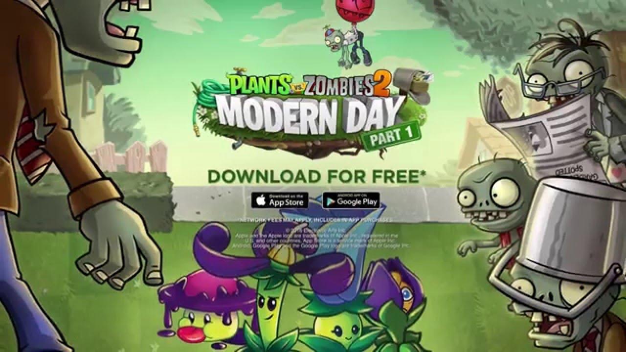 plants vs zombies 2 modern day part 1 dev diary
