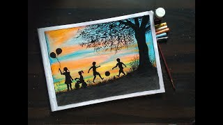 Childrenand39s Day Drawing Easyhow To Draw Childrenand39s Day For Beginners -step By Step Friendship Day