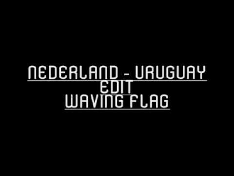 Nederland - Uruguay Edit Waving Flag