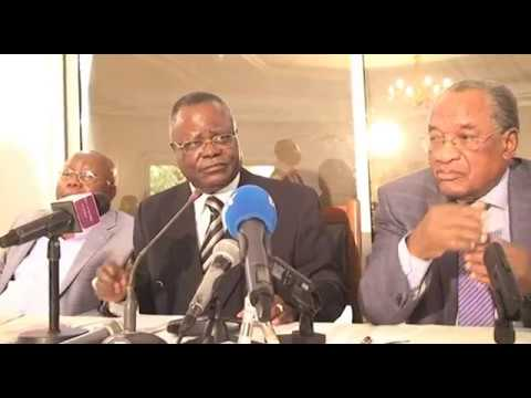 MATHIAS DZON ET LE COLLECTIF APPELLENT LE PEUPLE CONGOLAISE A NE PAS PARTICIPER A L'ELECTION DE JUIL