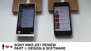 Sony NWZ-ZX1 128GB Walkman Audio Player Review (Part 1)