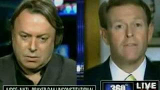 Christopher Hitchens - National Prayer Day is Illegal