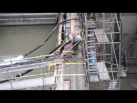 Morgantown lock and dam tour 10-21-14