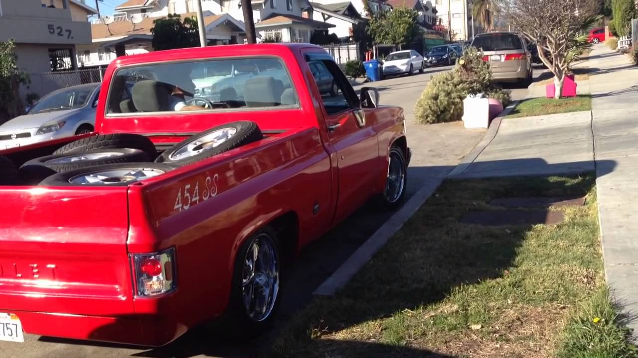 All Chevy 1976 chevy c10 : 1976 chevy C10 454 ss short bed pick up - YouTube