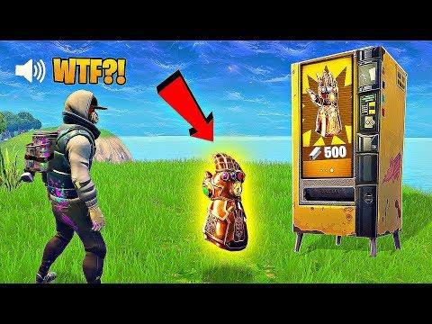 GAUNTLET IN VENDING MACHINE..?! FORTNITE FAILS & Epic Wins! #12 (Fortnite Battle Royale Funny Moment