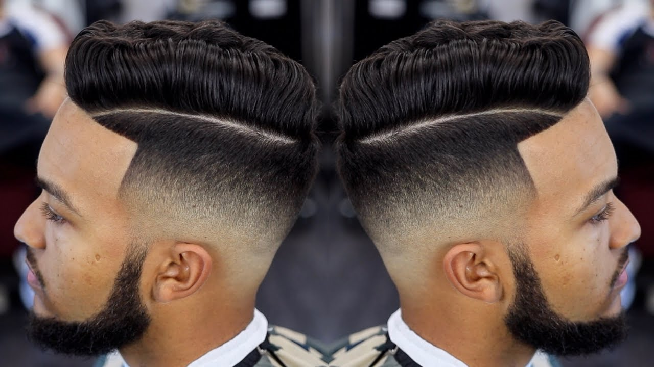 Freshest Mid Fade Combover Haircut Tutorial Youtube