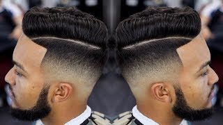 FRESHEST MID FADE COMBOVER HAIRCUT TUTORIAL