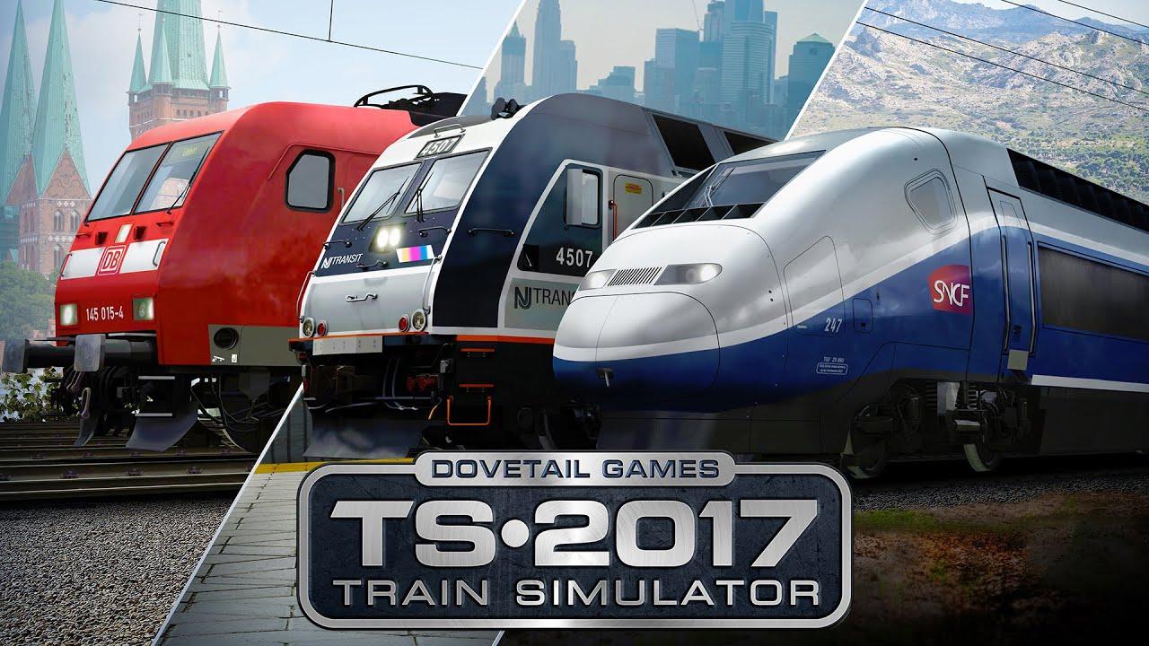 Train Simulator 2017 - The Art of Precision - YouTube