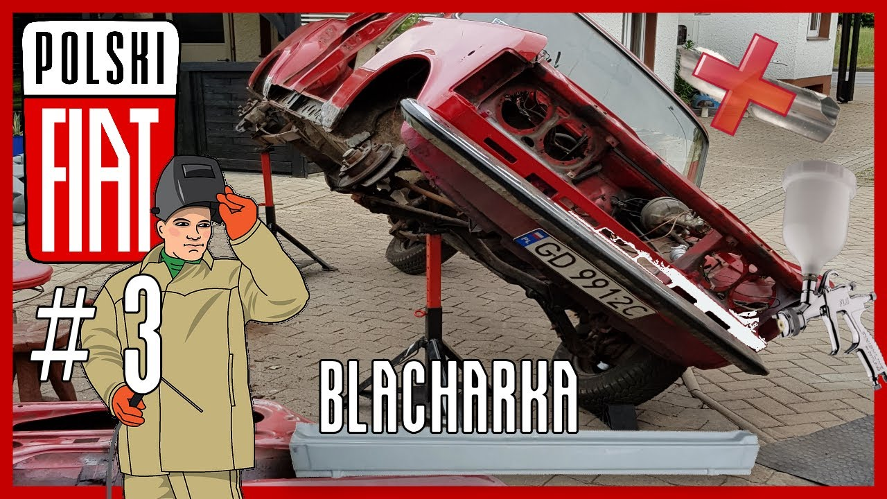 [125p] #3 Blacharka - Nowe Progi - Początki Malowania