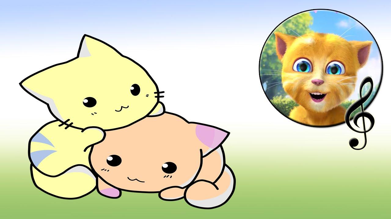 Тетя, тетя, кошка (Кошкин дом). Споем вместе с котенком ...