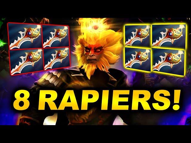8 RAPIERS THE CRAZIEST GAME!!! - PSG.LGD vs ASTER - DPC CHINA 2021 WINTER LEAGUE DOTA 2