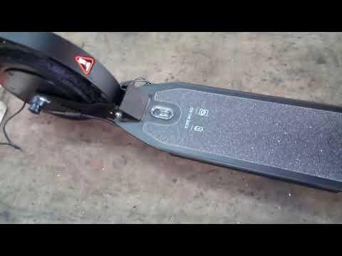 Электросамокат E9 с Алиэкспресс - распаковка и обзор