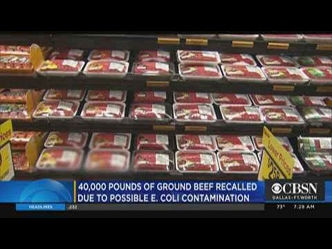 More Than 42K Pounds Of Ground Beef Sold At Walmart & Other ...