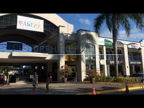 Paseo De Santa Rosa Factory Outlet Store Mall Laguna By Youtube