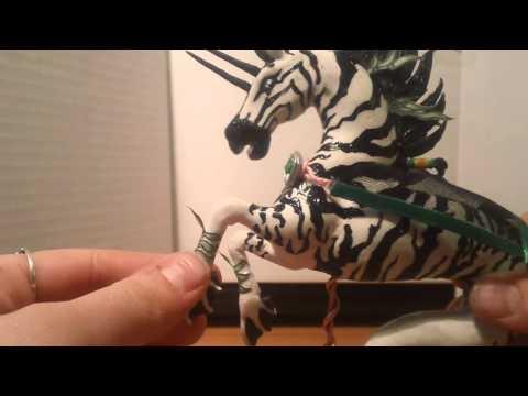 Мои игрушечные лошади (мой новый конь Кона)