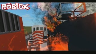 ROBLOX Train Crashing