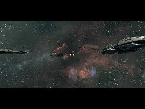 Battlestar Galactica Deadlock: Anabasis Part 1 with 2nd War Era Ships |
