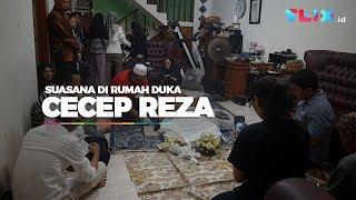 Suasana Rumah Duka Alm Cecep Reza