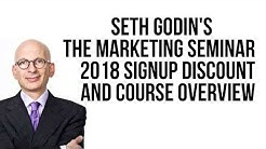 Seth Godin's The Marketing Seminar 2018 Signup Discount & Overview