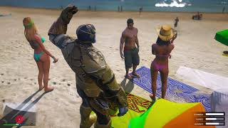 New Thanos Mod in Gta 5 in Redux Graphics 1080p | Thanos 2019 new skin| Thanos mod with new powers