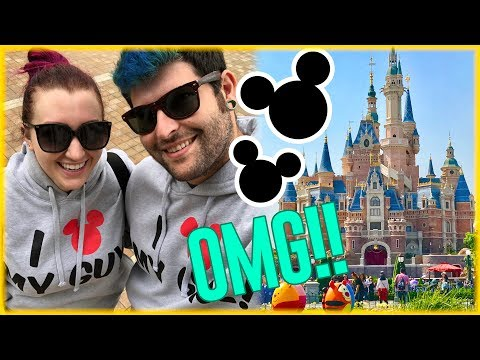 HE SURPRISED ME with a Trip to SHANGHAI DISNEY! | China Travel Family Vlog