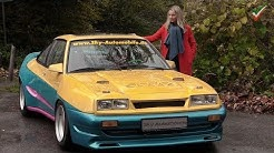 🎬ORIGINAL 𝙈𝙖𝙣𝙩𝙖-𝙈𝙖𝙣𝙩𝙖 aus dem Kultfilm der 90er - Filmstar Opel Manta - echtes Kultauto Filmfahrzeug