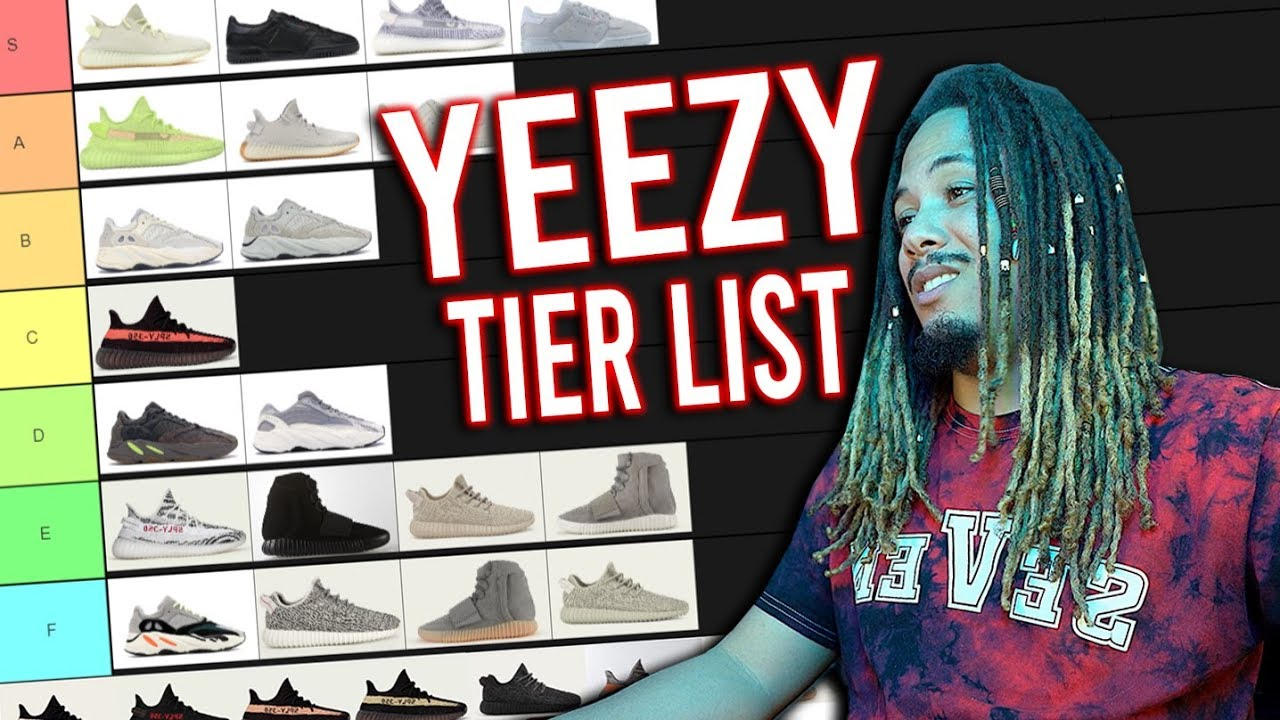 list of all yeezy shoes