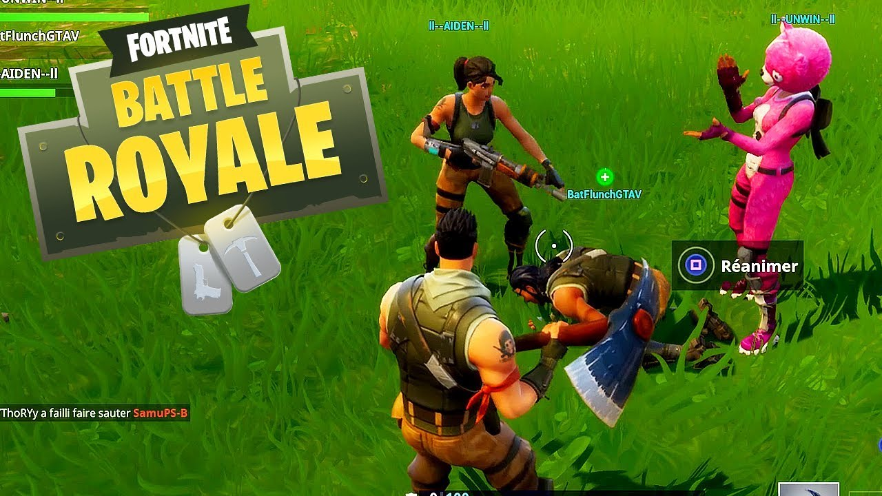 Team Lasalle Apprend A Jouer A Fortnite Youtube