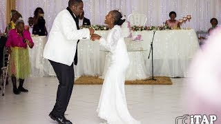 Bride and Groom dance to Aleck Macheso's Sungura Music