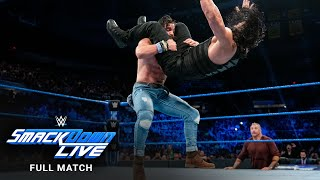 FULL MATCH - Roman Reigns & R-Truth vs. Drew McIntyre & Elias: SmackDown LIVE, May 28, 2019