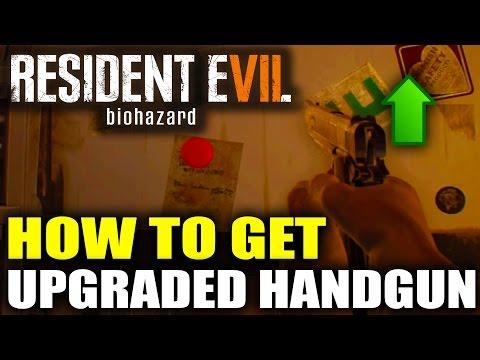 Resident Evil 7 How To Upgrade Pistol - Resident Evil 7 Pistol Location