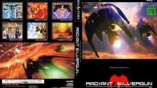 Radiant Silvergun - Saturn shooter review HD