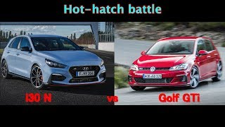 2018 Hyundai i30 N vs VW Golf GTI