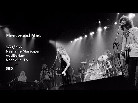 Fleetwood Mac Live at Nashville Municipal Auditorium - 5/21/1977 Full Show SBD