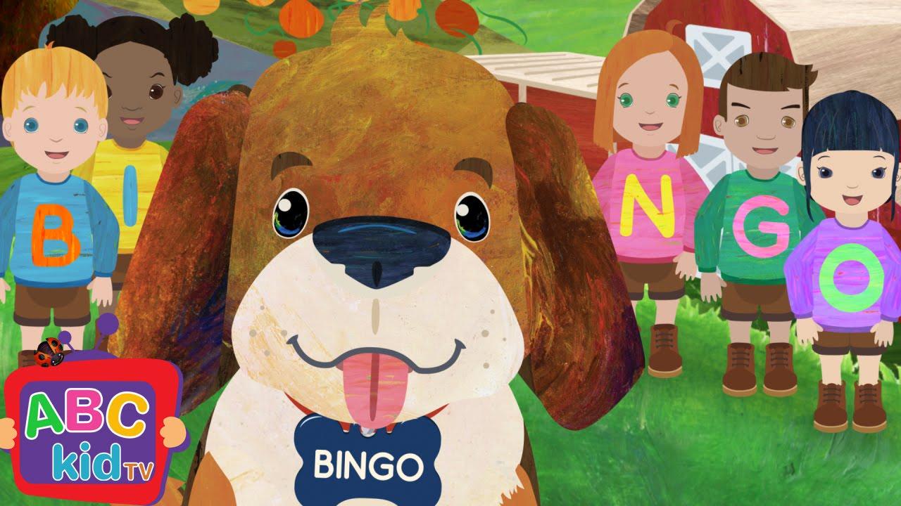 Bingo (2D) | CoComelon Nursery Rhymes & Kids Songs