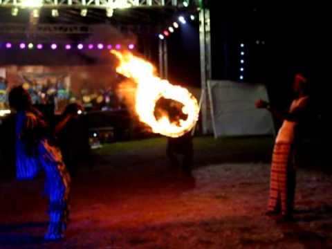 African fire acrobat (Sierra Leone)
