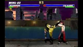 Ultimate Mortal Kombat 3 - Scorpion Arcade Very Hard - SZ Valdes