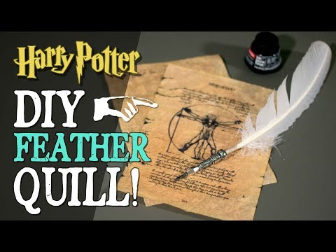 DIY Feather Quill Ink Pen