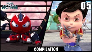 Vir: The Robot Boy & Rollbots | Compilation 05 | Action show for kids | WowKidz Action