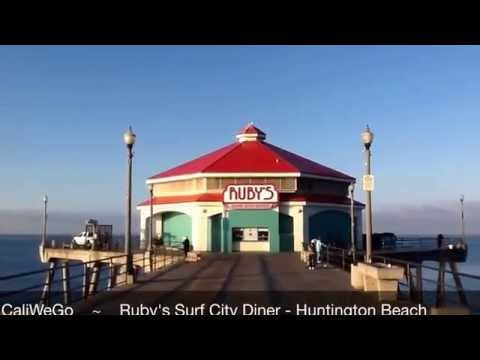 Ruby's Diner Huntington Beach Pier - California Beaches