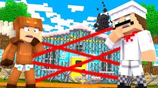 Minecraft Daycare - HACKERS SAFE HOUSE FOUND! W/ MOOSECRAFT (Minecraft Kids Roleplay)