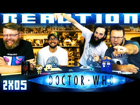 """Doctor Who 2x5 REACTION """"Rise of the Cybermen"""""""