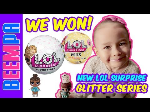 lol-surprise-glitter-series-miss-baby-unboxing---lol-suprise-pets-dolls-too