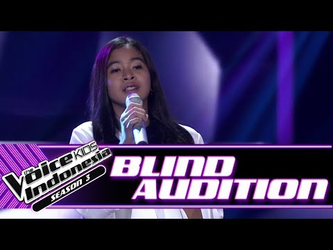 Jesi - Andaikan Kau Datang Kembali | Blind Auditions | The Voice Kids Indonesia Season 3 GTV 2018