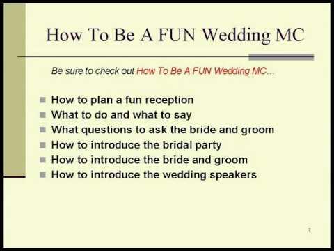 wedding mc template costumepartyrun