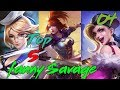 Mobile Legends TOP 5 Fanny Savage #04